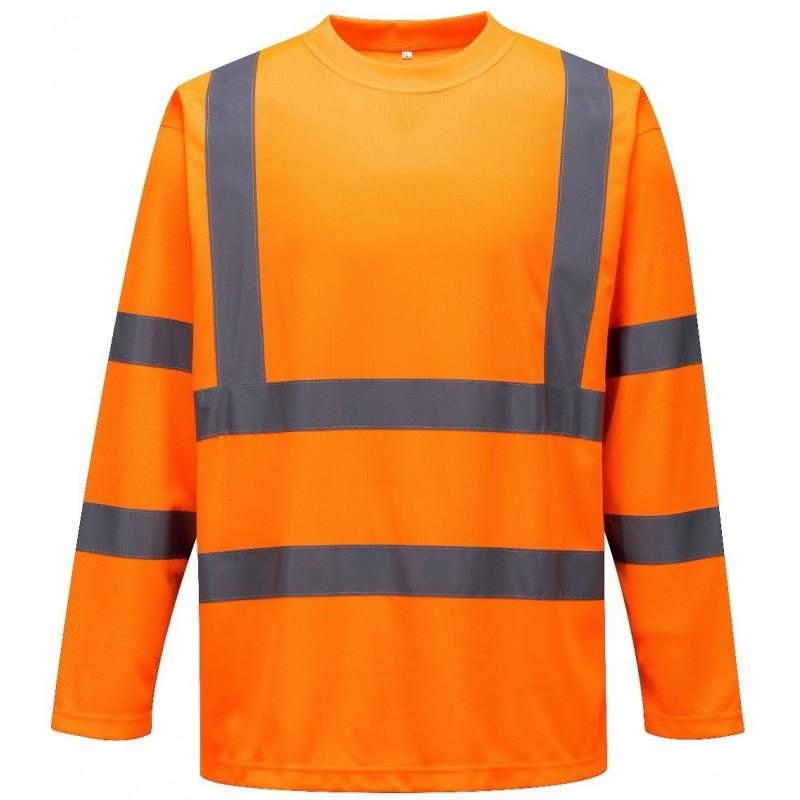Camiseta de manga larga de alta visibilidad S178