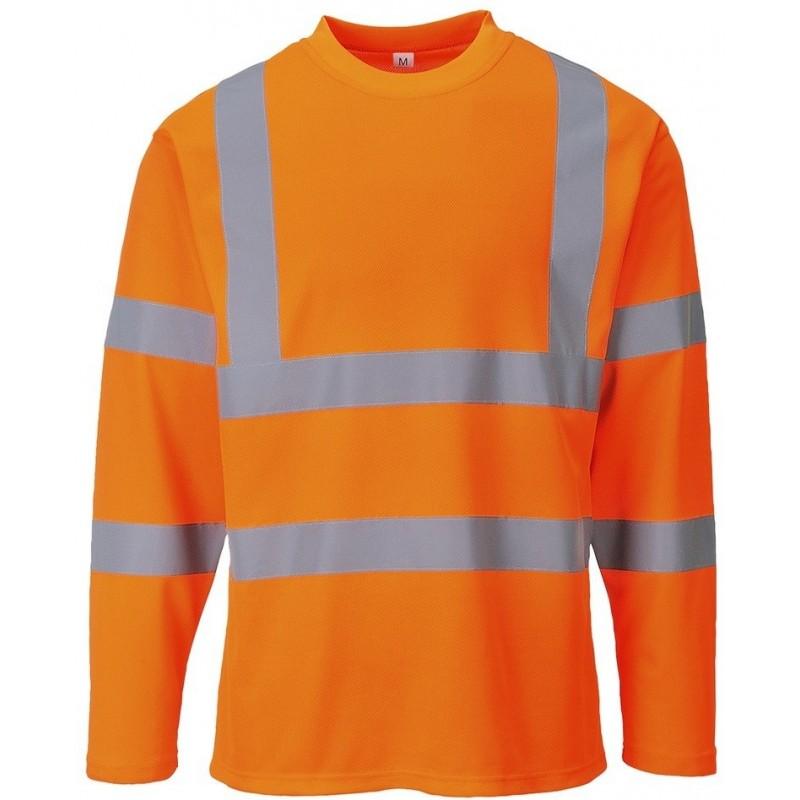 Camiseta manga larga de alta visibilidad S278