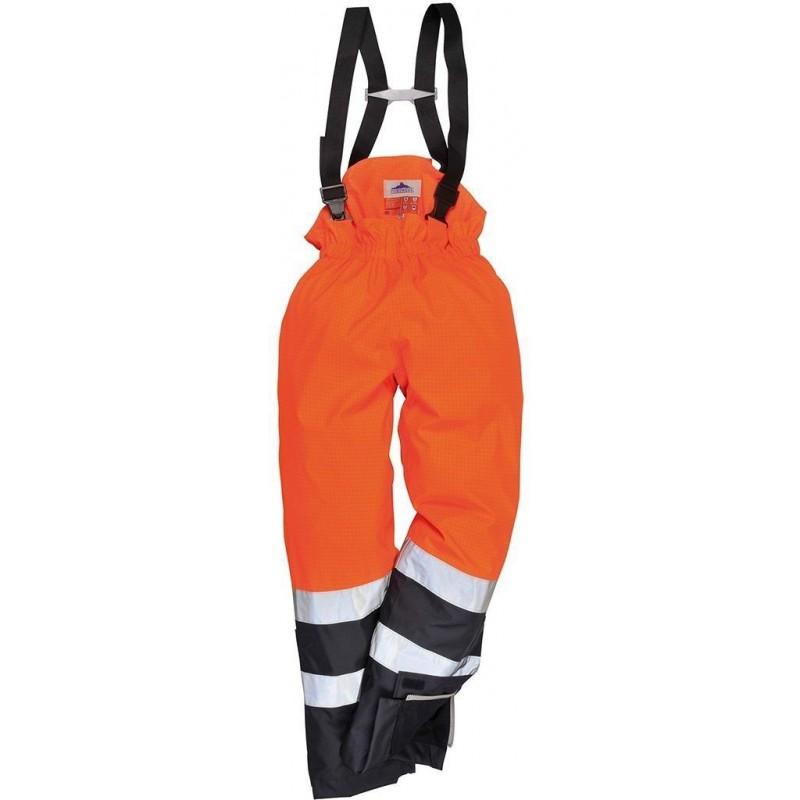 Pantalón de alta visibilidad multi-protección Bizflame Rain S782