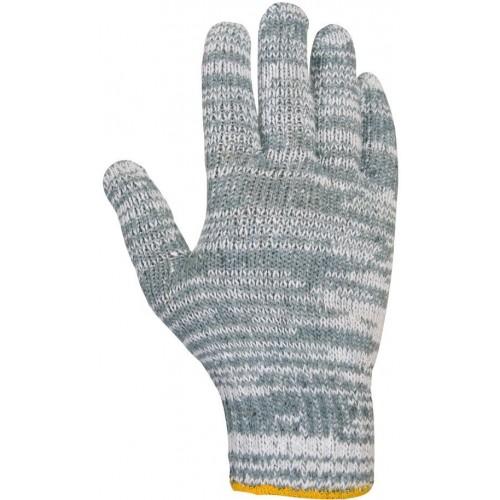Guante textil de poliéster/algodón sin costuras - 440