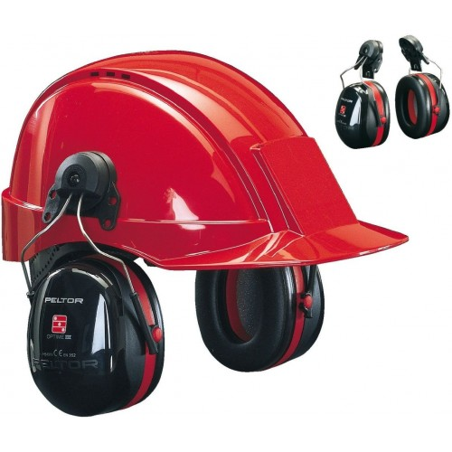 Peltor Orejera Optime III para Casco H540P3