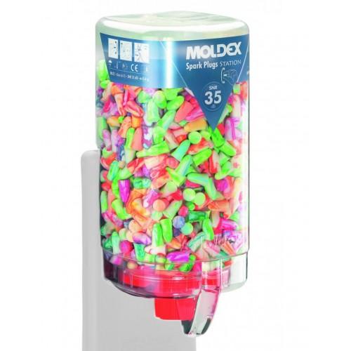Tapones desechables Spark Plugs® MoldexStation 7850