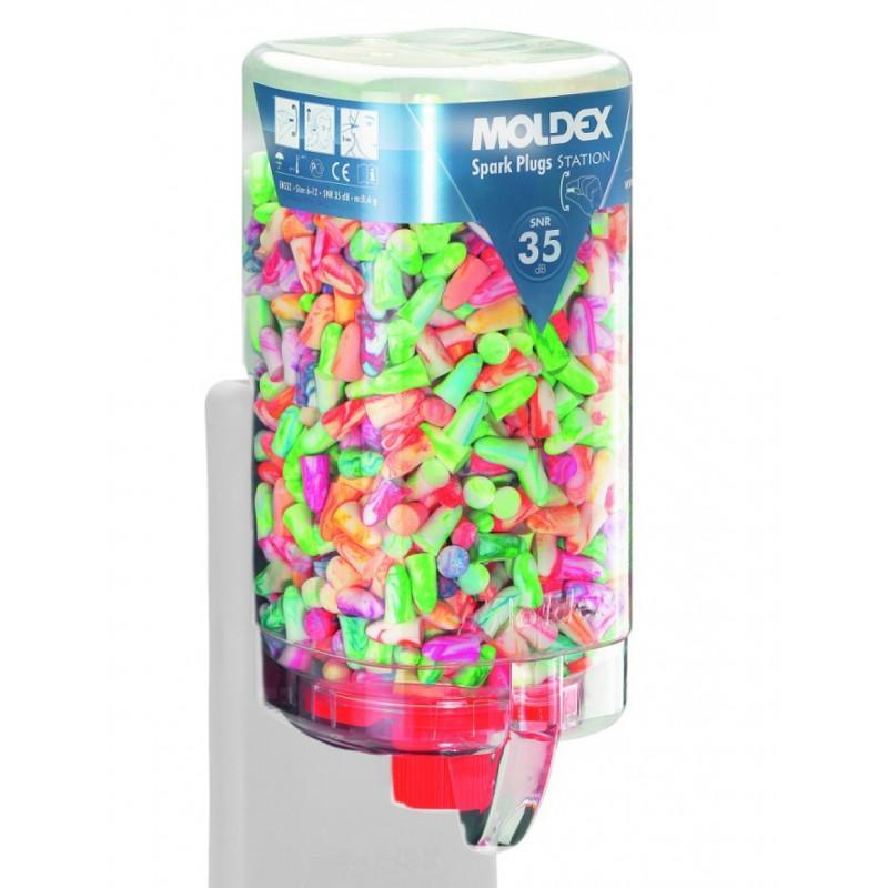 Tapones desechables Spark Plugs® MoldexStation