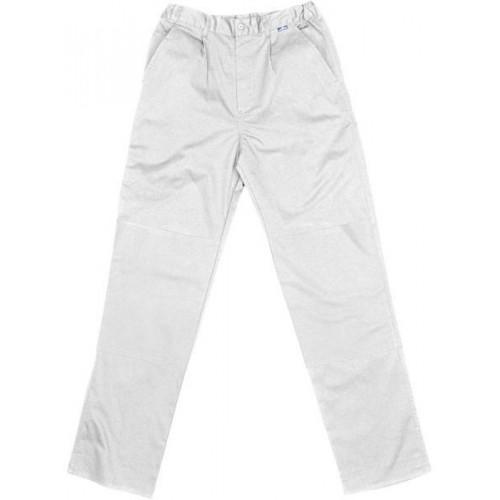 Pantalón alta resistencia 50% Algodón-50% Poliester - BLANCO