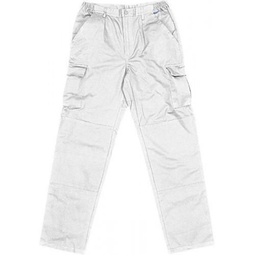 Pantalón multibolsillos alta resistencia 50% Algodón-50% Poliester -P8BLAN