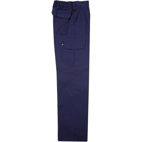 Pantalón multibolsillos de algodón 343