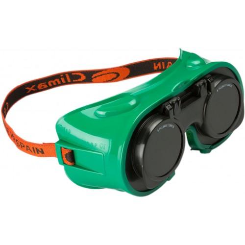 Gafa vinílica con lentes abatibles 545-A