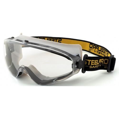 Gafa integral panorámica 180° ocular claro antiempañante para riesgos mecánicos 2188-GIX9
