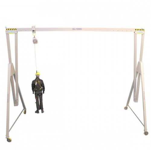 Estructura atornillada con soporte lateral PORTA-GANTRY 500-5000