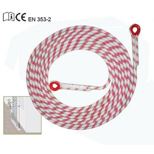 Línea de seguridad en cuerda 10 m