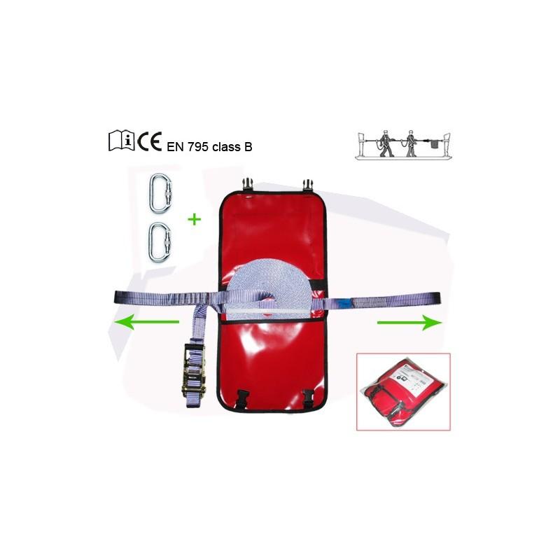 Linea de seguridad horizontal portátil LI-470/20/KIT2