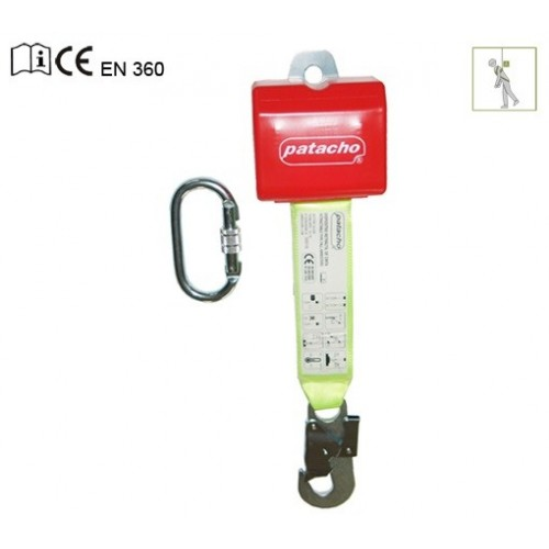 Dispositivo retráctil automático con absorbedor de 2,5m CU-539