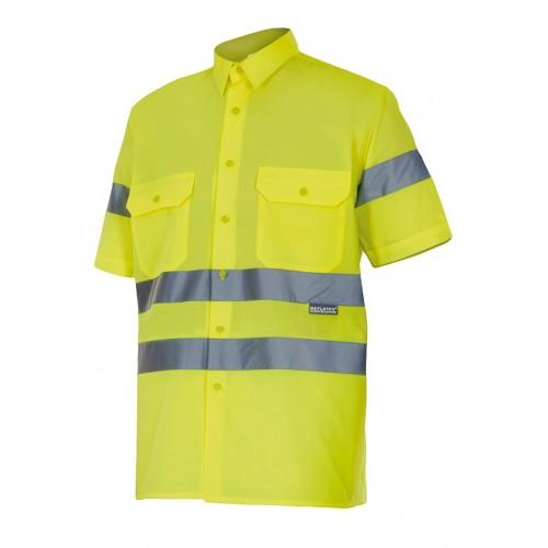 Camisa manga corta alta visibilidad 141