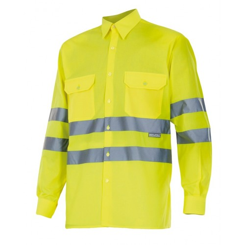 Camisa manga larga alta visibilidad 143