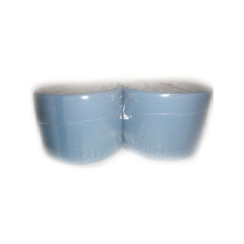 Bobinas papel azul industrial 2 hojas 935008
