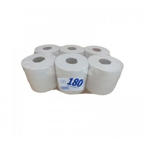Rollo papel blanco secamanos 2 hojas 935011