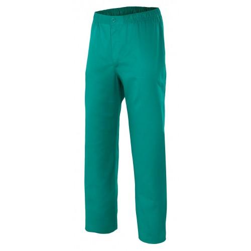 Pantalón pijama con cierre de botón y cremallera 336
