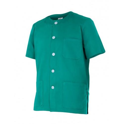 Camisola pijama de cuello redondo y manga corta 599