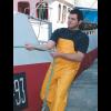 Pantalón de tirantes con bolsillo G30 G303100