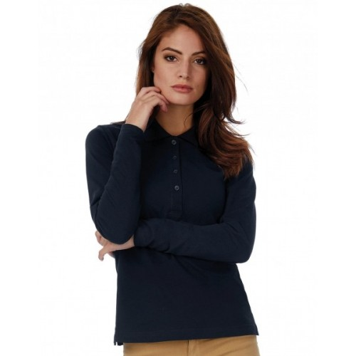 Polo Safran Pure LSL/women 520.42