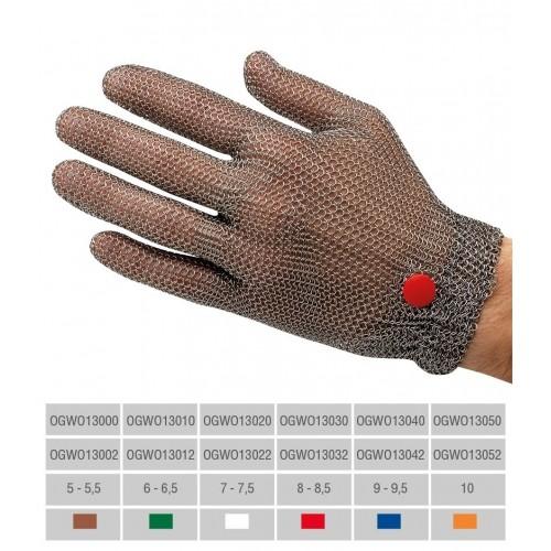 Guante malla acero con puño flexible para zafado rápido - Sin tirantes -  Manulatex OGWO0