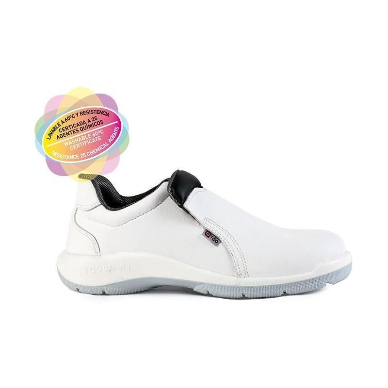 Zapato microfibra hidrofugada S2 Drava