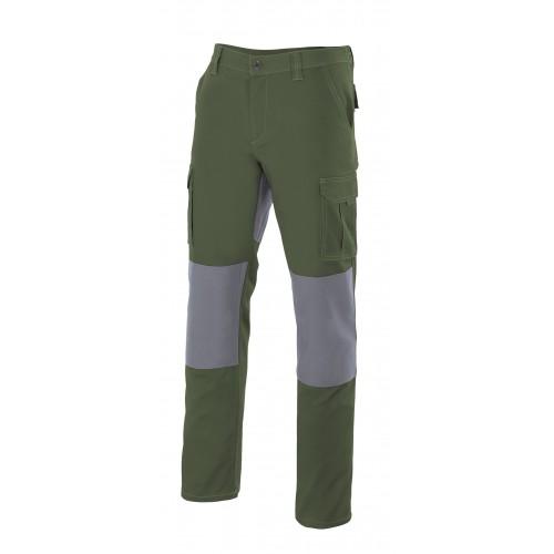 Pantalón multibolsillos bicolor R103001