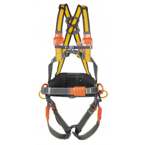Arnés aislado para electricistas, resistente a la llama, válido para posicionamiento URAL 80060