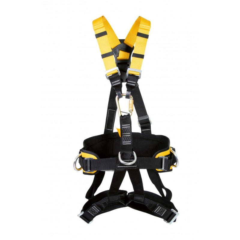 Arnés de asiento para trabajos de suepensión de ascenso y descenso, válido para posicionamiento BIHOR 80076