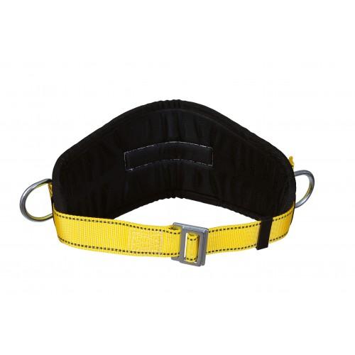 Cinturón de posicionamiento para trabajo en fijación con faja confort acolchada DEVESA 80048P