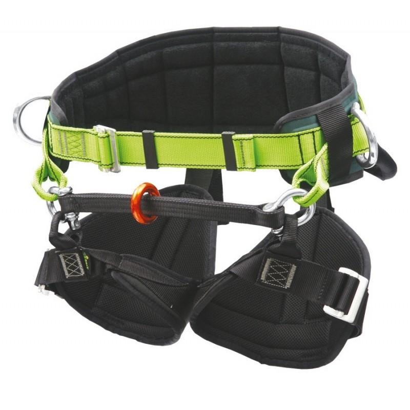 Cinturón-faja para escaladores y trabajos de posicionamiento en postes y poda YANGRA-PLUS 80085