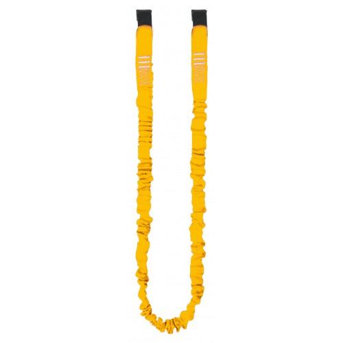 Cinta elástica de seguridad con dos cintas tubulares superpuestas 80160