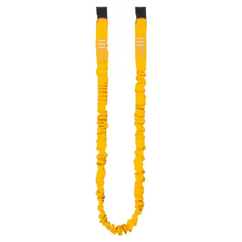Cinta elástica de seguridad con dos cintas tubulares superpuestas de 1m 80160