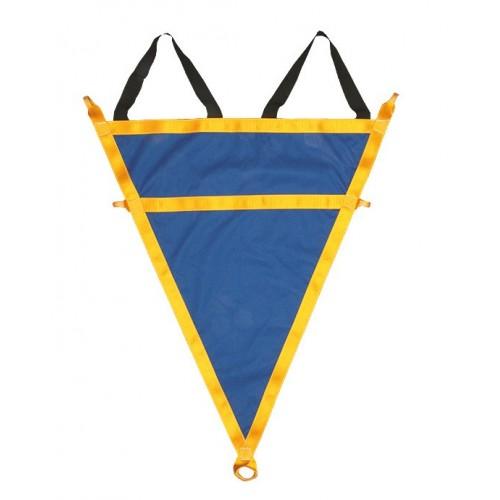 Triángulo de rescate para evacuación de personas en altura 80143