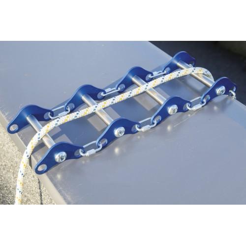 Protector de líneas de vida en aluminio y acero inox con una longitud máxima de 300mm 80208