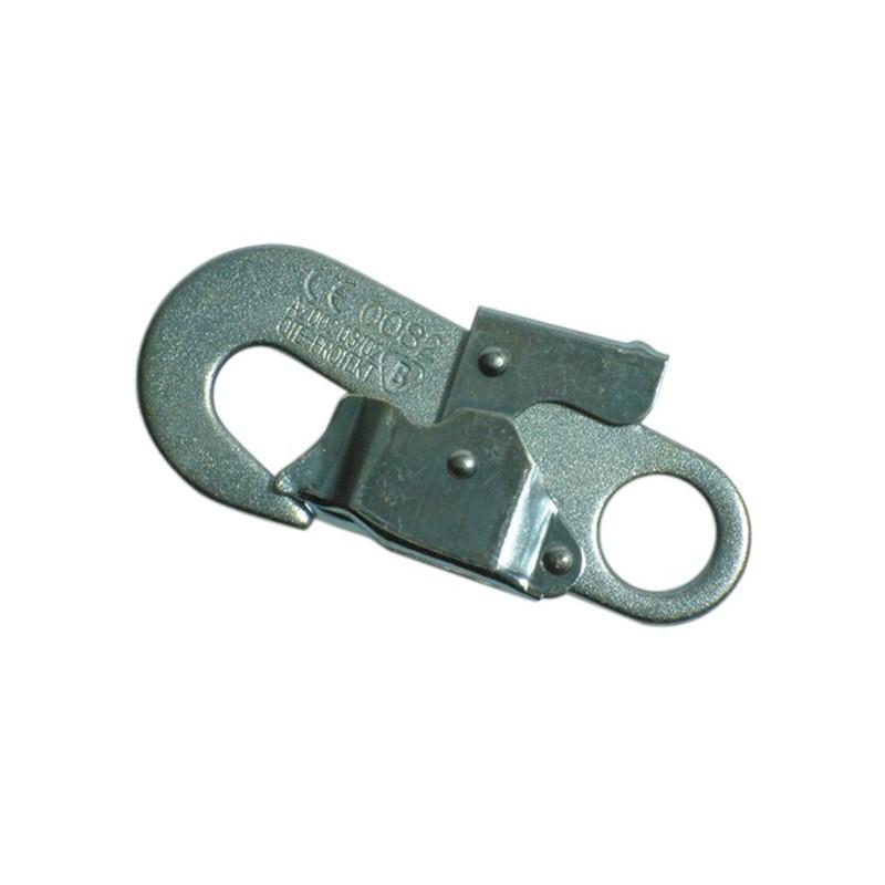 Mosquetón automático de acero, de apertura rápida para conexiones repetidas 80111