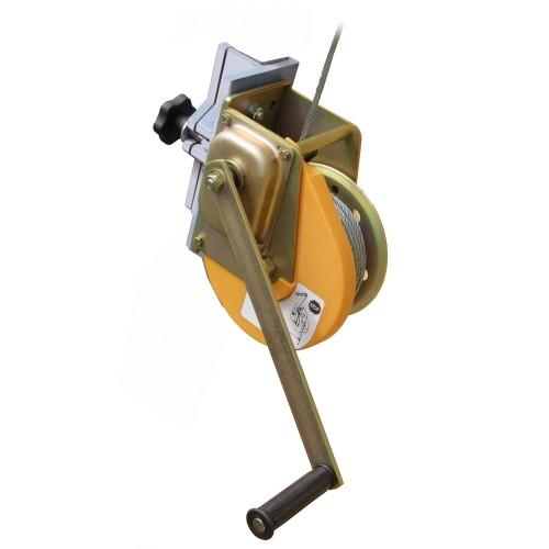Enrollador de cable de acero galvanizado con frenado automático 81372
