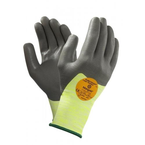 Guante Anticorte de Máxima Calidad - Nivel 3 al corte - Muy cómodo - Baño nitrilo Hyflex 11-423