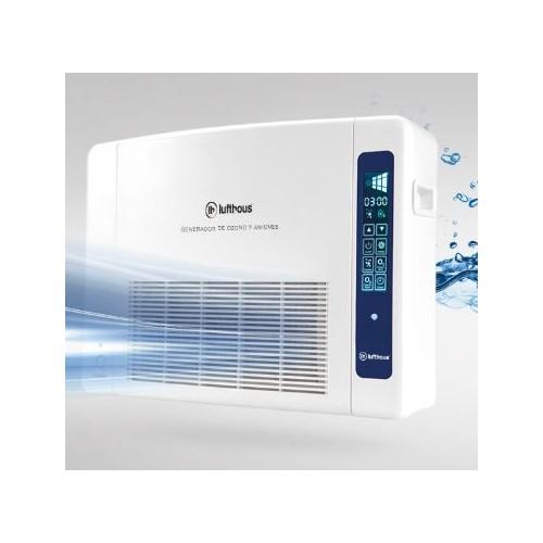 Equipo de filtración de aire continuo con generador de ozono