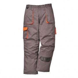 Pantalones y petos bicolor